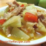 Filipino Chayote Guisado