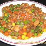 Chicken Mixed Vegetable Stirfry
