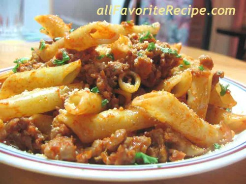 Penne Sausage